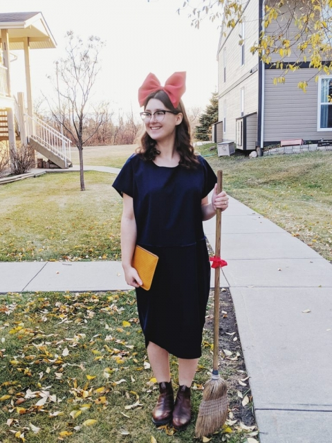 Kiki from Kiki's Delivery Service Costume